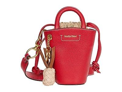 See by Chloe Cecilia Shoulder Bag (Red Flame) Handbags