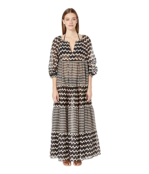 Stella McCartney Drawstring Tunnels Long Dress Cover-Up