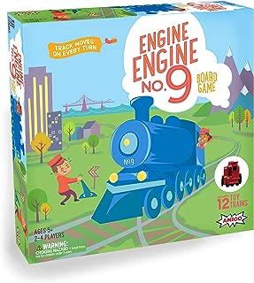 AMIGO Games Engine, No. 9 Kids Board Game with 12 Toy Trains