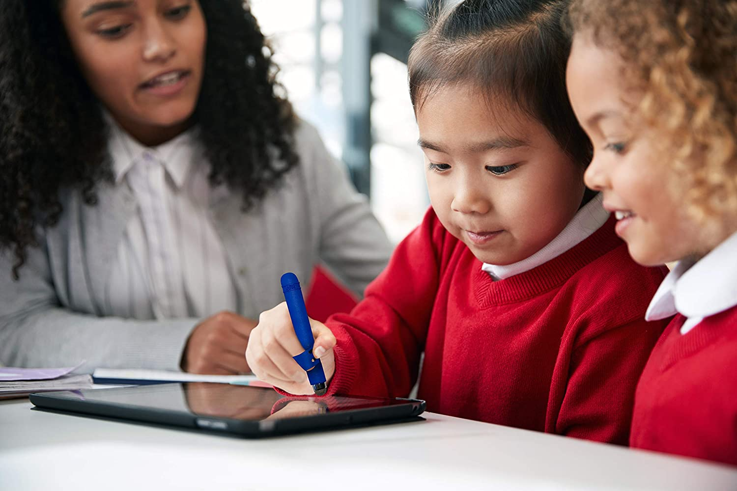 Write Right Stylus - Kids Stylus Pen, Compatible with All Touchscreen Devices