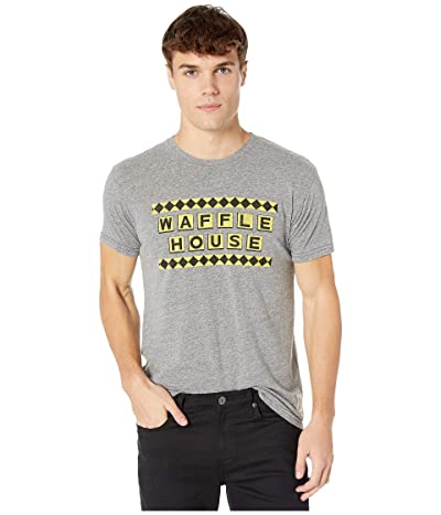 The Original Retro Brand Tri-Blend Short Sleeve Waffle House Tee (Streaky Grey) Men