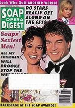 Eva LaRue & John Callahan (All My Children) l Soaps' Sexiest Men - March 15, 1994 Soap Opera Digest