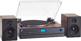 Dual NR Minicadena con Tocadiscos (Reproductor de CD, MP3, 3