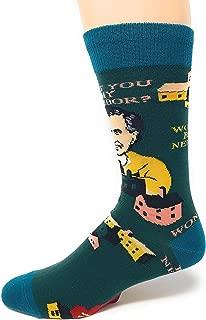 Mister Rogers Be My Neighbor Men's Crew Socks, Green