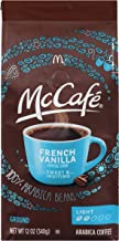 McCafe Light Roast French Vanilla Ground Coffee (12 oz Bags, Pack of 6)
