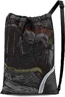 BeeGreen Swim Bag Mesh Swimming Bag for Swimmer Pool Net Bag for Gear Beach Gym