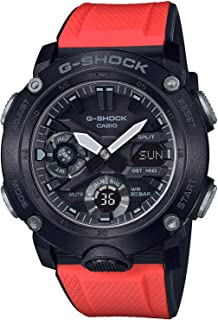 G-Shock GA-2000E-4 G-Carbon Limited Edition Mens Watch w/ 2 Extra Straps