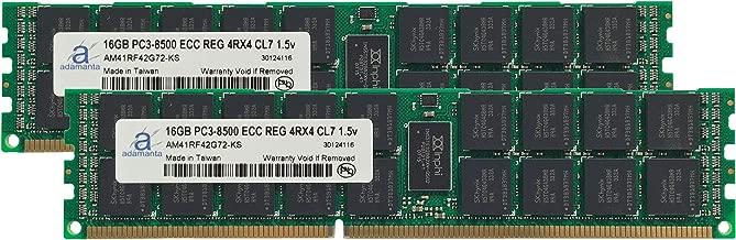 Adamanta 32GB (2x16GB) Server Memory Upgrade for IBM System x3650 M3 7945 DDR3 1066Mhz PC3-8500 ECC Registered 4Rx4 CL7 1.5v