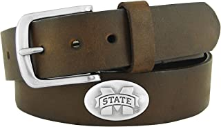 NCAA Mississippi State Bulldogs Zep-Pro Leather Concho Belt