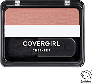 COVERGIRL Cheekers Blendable Powder Blush Iced Cappuccino, .12 oz (packaging may vary), 1 Count