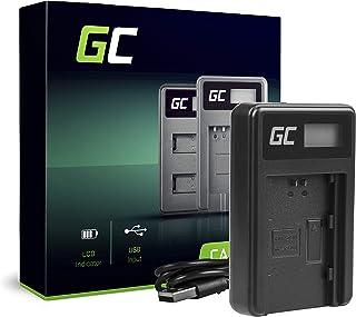 Green Cell BC-QZ1 ładowarka do Sony NP-FZ100 bateria i Alpha A7 III A7R III A9 A9R A9S ILCE-7M3 7RM3 (5 W 8,4 V 0,6 A czarna)