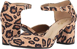New Nude Leopard Microsuede