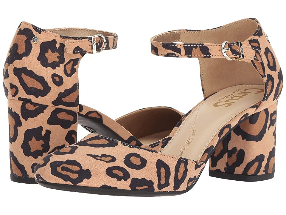 949261ea89dd Circus by Sam Edelman Joelle (New Nude Leopard Microsuede) Women s Shoes
