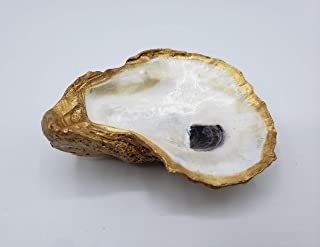 Oyster Shell Jewelry Dish, Ring Holder, Jewelry Dish, Little Dish