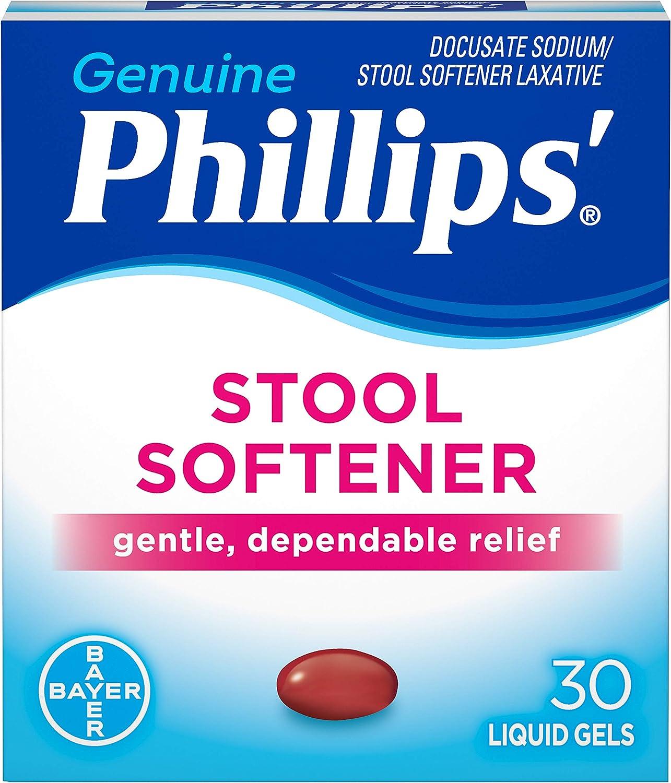 Phillips' Stool Max 68% OFF Softener Liquid Gels Pack Over item handling ☆ of 6 30