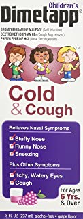 Dimetapp Children's Cold & Cough Liquid-Grape-8 oz