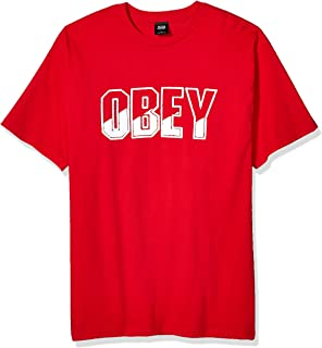 Obey Men's Block Buster Basic Tee