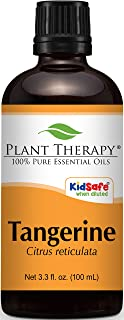 Plant Therapy Tangerine Essential Oil 100 mL (3.3 oz) 100% Pure, Undiluted, Therapeutic Grade