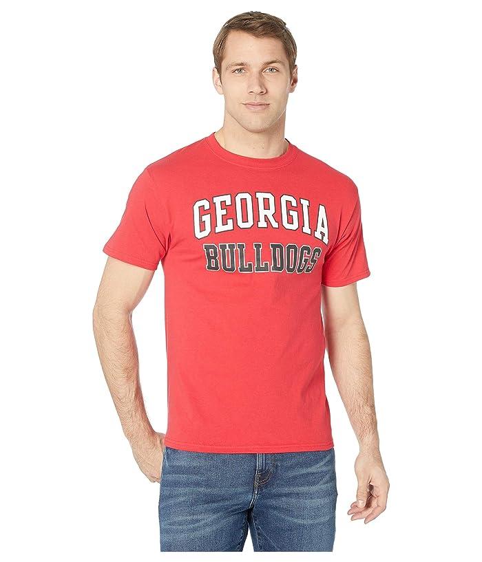 Champion College Georgia Bulldogs Jersey Tee (Scarlet 2) Boy