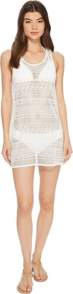 Surf Memory Crochet Dress Cover-Up