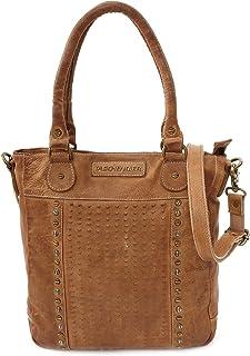 Taschendieb Wien Leder Handtasche Schultertasche Handbag Tasche TD0621