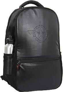 POLESTAR 30 Ltrs Casual School Backpack ( PS_VINTAGE_BLK _ Black )