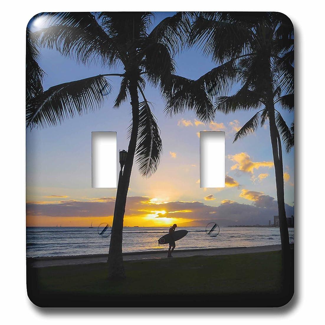 映画ポスター故意の3dローズLSP _ 230691?_ 2サンセット、ワイキキ、オアフ島、ハワイダブル切り替えスイッチ