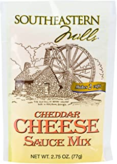 Southeastern Mills Cheddar Cheese Sauce Mix, 2.75 Oz. Package (Case of 24)