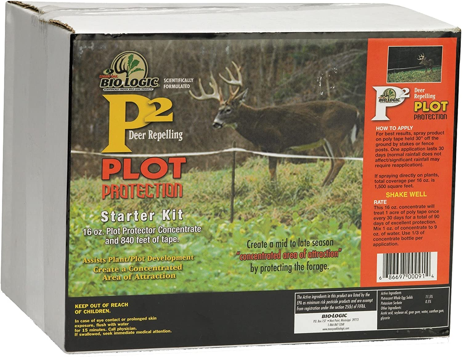 BioLogic P2 Online Super beauty product restock quality top! limited product Starter Kit Feeder 1-Acre
