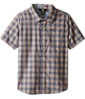 Volcom Kids - Amerson Short Sleeve Woven Top (Toddler/Little Kids)