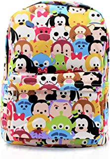 Finex Mickey Mouse Minnie Mouse Daypack with 15 in Laptop Storage Compartment
