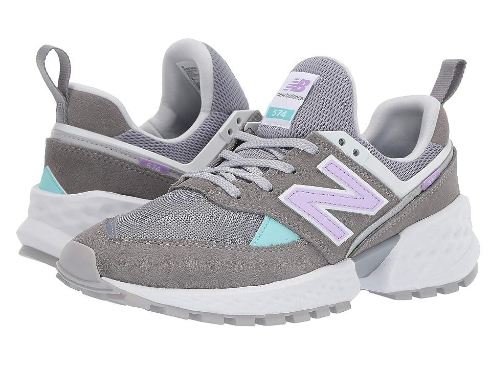 New Balance Classics 574v2-USA (Gunmetal/Dark Violet Glo) Women's Shoes