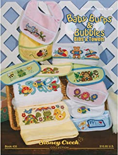 Stoney Creek Baby Burps and Bubbles Bibs and Towels Book