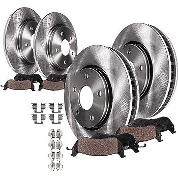 OE Replacement Rotors w//Metallic Pads F+R 2002 2003 2004 VW Jetta See Desc.