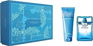 Versace Eau Fraiche Giftset For Men, Eau De Toilette 100ml + Bath Gel 150ml