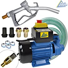 Bomba Diesel Moto 12V 160W Bomba de Transferencia el/éctrica port/átil para el Coche Tasa de Flujo m/áxima: 40 l//min