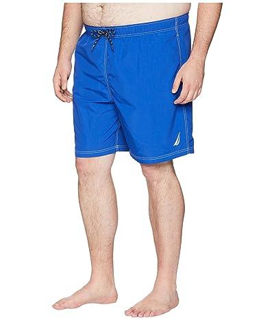 Nautica Big & Tall Big Tall Anchor Swim Trunk (Bright Cobalt) Men