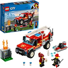LEGO City Fire Chief Response Truck 60231 Building Kit, New 2019 (201 Pieces)