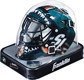 san jose sharks mini helmet