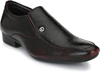 Andrew Scott Men's Two Tone Synthetic Leather Formal Shoes