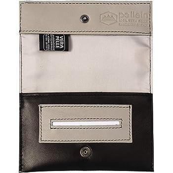 Pellein - Portatabacco in vera pelle Tricky - Astuccio porta tabacco, porta filtri, porta cartine e porta accendino. Handmade in Italy