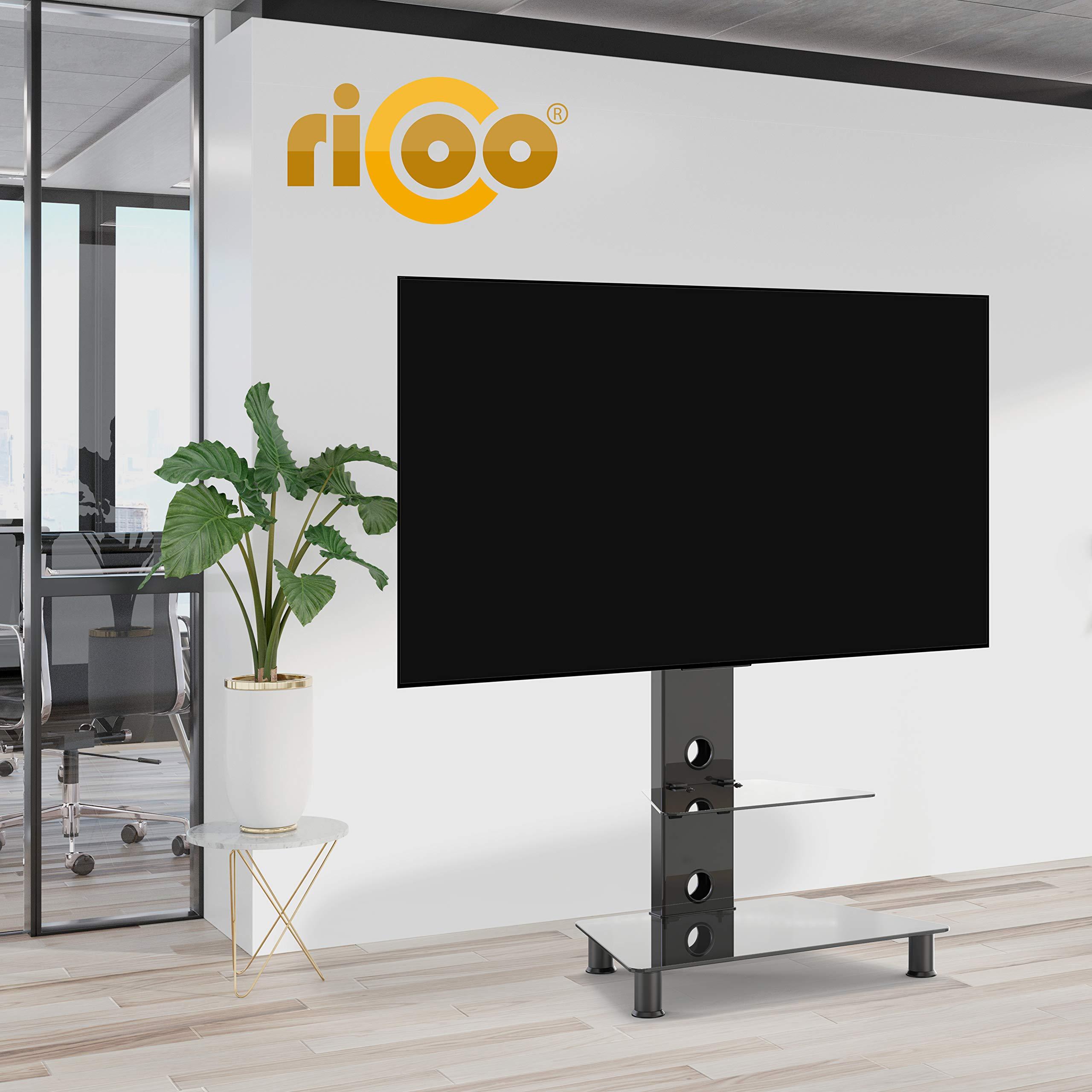 RICOO FS707-B, Soporte TV, Base de pie, Giratorio, Televisión 30 ...