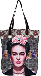 Akitai Frida Kahlo Flower headband Purse - Shoulder - Travel Tote – Boho - Handbag - Womens Bag Frida Fans Costume Collection