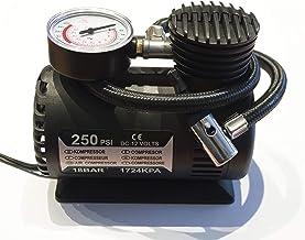 ELEPAWL Pompa Mini Pompa elettrica 12V DC Compressore dAria 120 PSI Compressore dAria Gonfiatore Pompa Gonfiabile per Auto Moto Biciclette