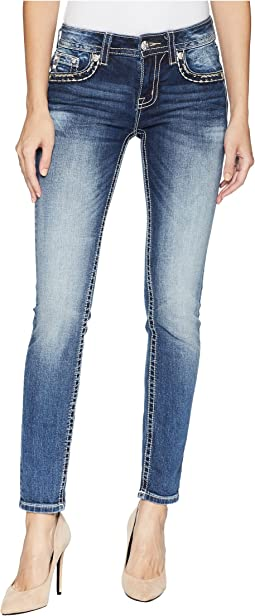 Skinny Jeans in Medium Dark