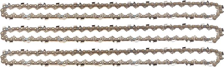 3 tallox cadenas de sierra 3/8