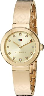 Tommy Hilfiger Women's Quartz Tone and Gold Casual Watch(Model: 1781720)