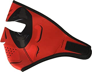 ZANheadgear WNFM109 Neoprene Full Face Mask, Red Dawn