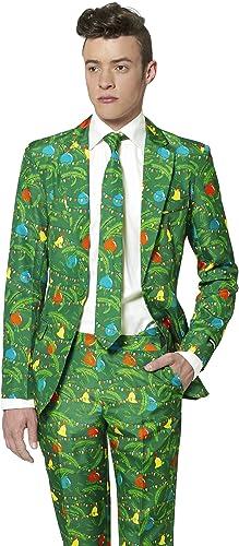 Opposuits Weißnachtsbaum Suitmeister Kostüm für Herren L