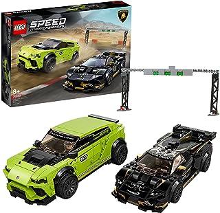 LEGO 76899 Speed Champions Lamborghini Urus ST-X & Lamborghini Huracán Super Trofeo EVO, Racewagens Speelgoed voor Kindere...